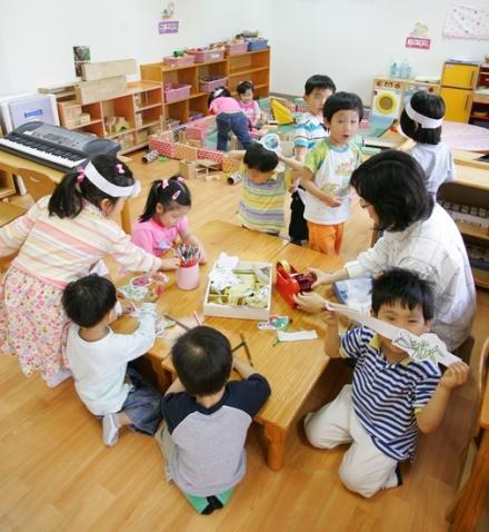 어린이집 모습. 위 사진은 기사와 관련 없음. ⓒ여성신문DB