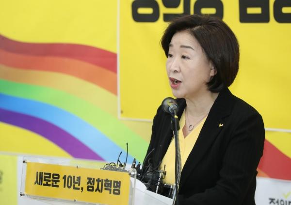 정의당 심상정 대표 ⓒ뉴시스‧여성신문