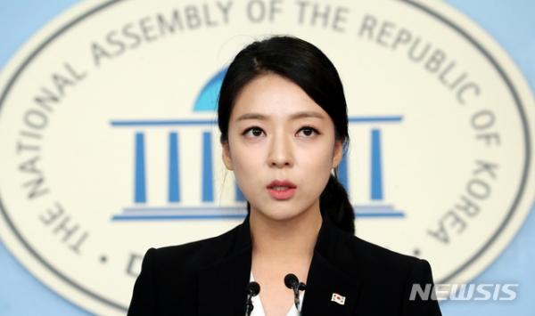 미래통합당 배현진 송파을 후보. ⓒ뉴시스·여성신문<br>