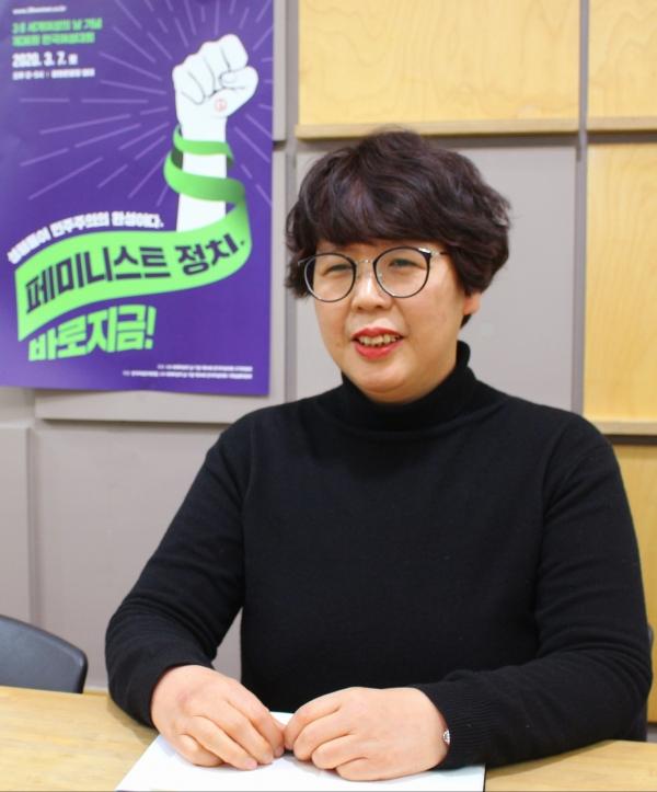 김영순 한국여성단체연합 상임대표