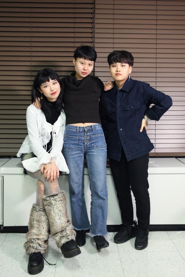 20일 서울 서대문구 여성신문에서 하우스 오브 허벌은 각자 다양하고 신나는 경험과 팝컬쳐에 대해 인터뷰를 했다. ⓒ홍수형 기자