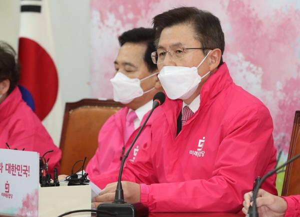 미래통합당 황교안 대표 ⓒ뉴시스·여성신문