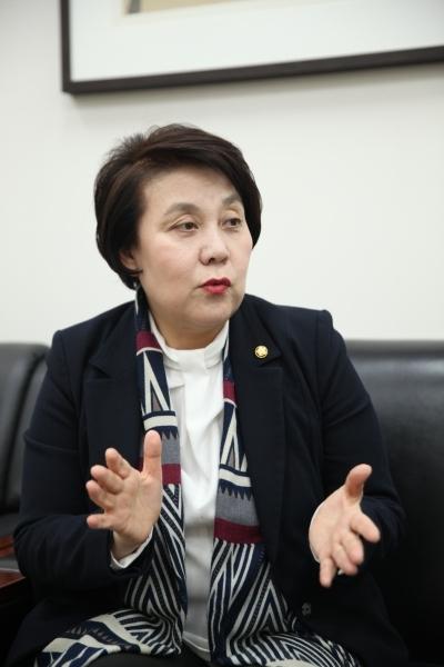 더불어민주당 정춘숙 의원. ⓒ홍수형 기자