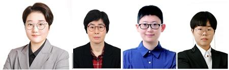 (왼쪽부터)이지원 이경옥 박보람 김주희