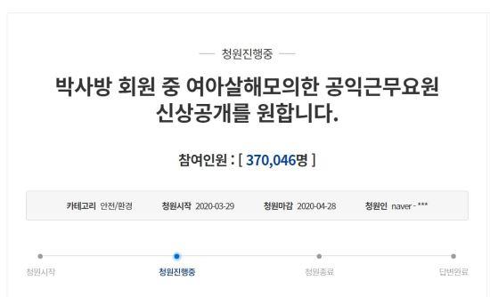 ⓒ청와대 국민동의청원 캡처