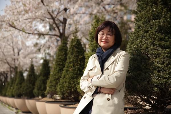 변옥경 열린민주당 비례대표 후보 ⓒ홍수형 기자