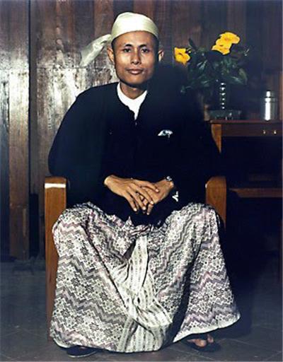 미얀마 독립의 영웅 아웅산 장군.