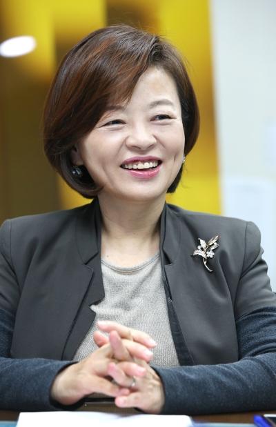 진선미 더불어민주당 의원 ⓒ이정실 여성신문 사진기자
