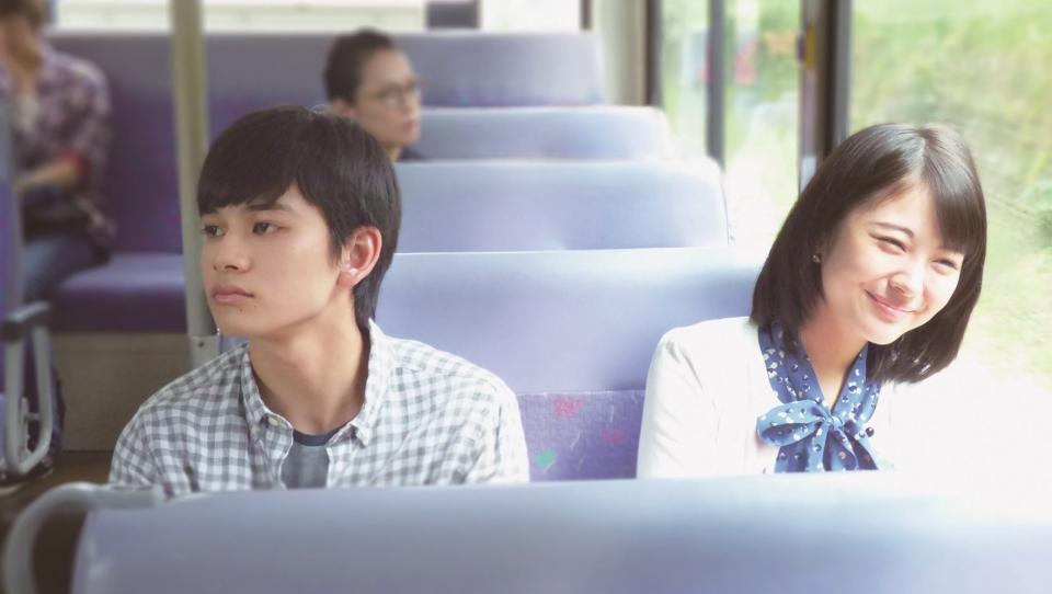 2017년 7월 개봉한 영화 '너의 췌장을 먹고 싶어'의 한 장면. 일본 41회 아카데미 시상식에서 신인배우상, 작품부문 화제상 등을 수상했다. 라이트 노벨이 원작이다. ⓒ홍보사