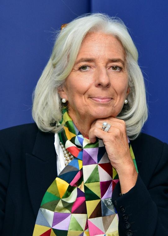 크리스트 라가르드 국제통화기금(IMF) 총재가 지난해 12월5일 오후 서울 중구 프레스센터 외신지원센터에서 열린 기자회견에 참석하고 있다. ⓒ뉴시스·여성신문