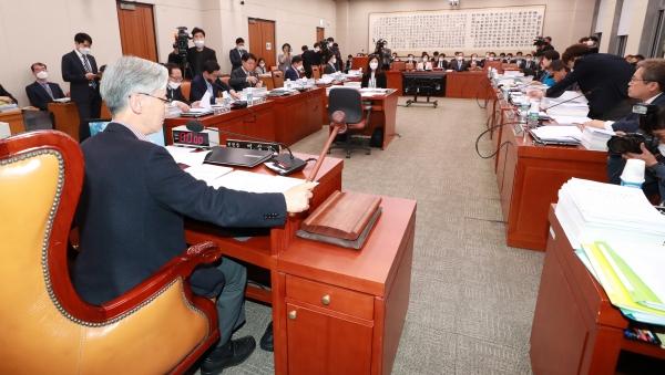 29일 오후 서울 여의도 국회에서 법제사법위원회 전체회의가 열렸다. ⓒ뉴시스‧여성신문