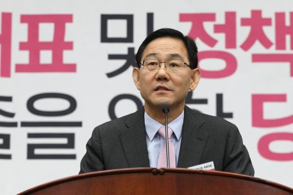 주호영 미래통합당 신임 원내대표. ⓒ뉴시스·여성신문