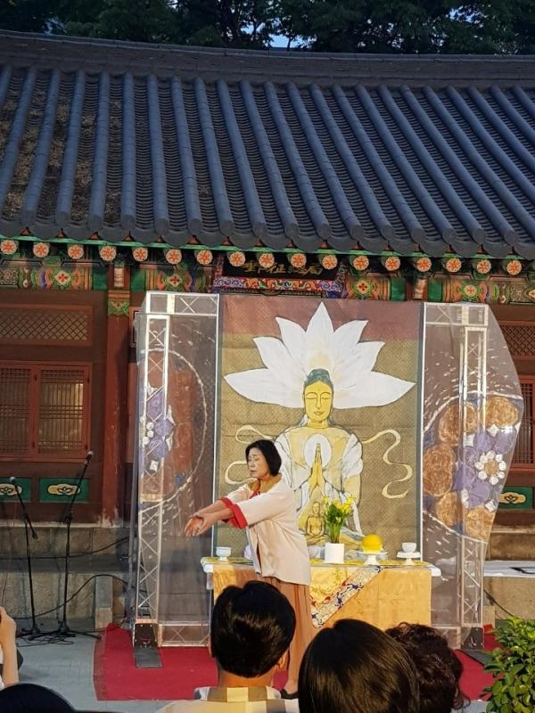 지난해 5월 성평등불교연대가 주최한 '위대한 여성 마하마야 페스티벌'의 모습. ©종교와젠더연구소