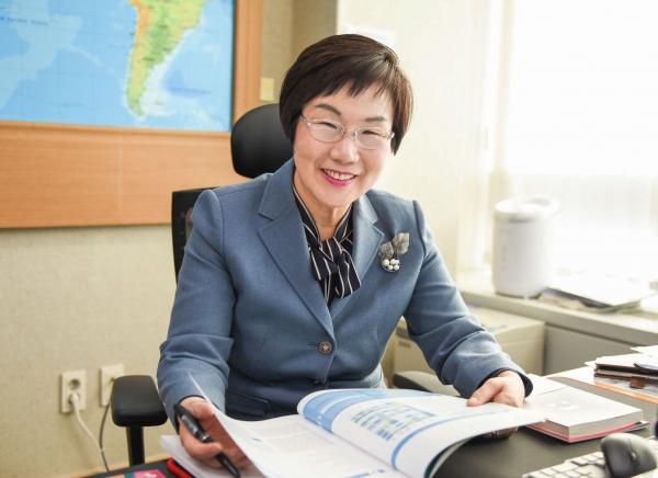 이미경 한국국제협력단(KOICA) 이사장