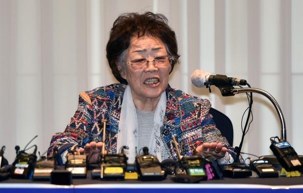 지난 25일 기자회견하는 이용수 여성인권운동가 ⓒ뉴시스·여성신문