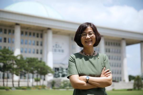 권인숙 더불어민주당 의원 ⓒ홍수형 기자