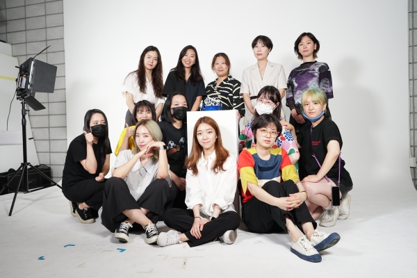 FDSC(페미니스트 디자이너 소셜클럽)가 지난 20일 온라인 컨퍼런스 'FDSC Stage 01'을 개최했다. ⓒ금시원 작가