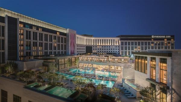 인천 중구 영종도 내에 있는 인천 파라다이스 시티 호텔
