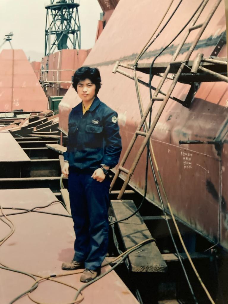 1984년 용접공 김진숙