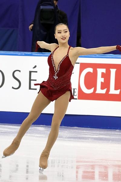 2017년 사대륙 피겨스케이팅 세계 선수권대회에 참가한 슈란 유의 모습 ⓒWikimedia Commons