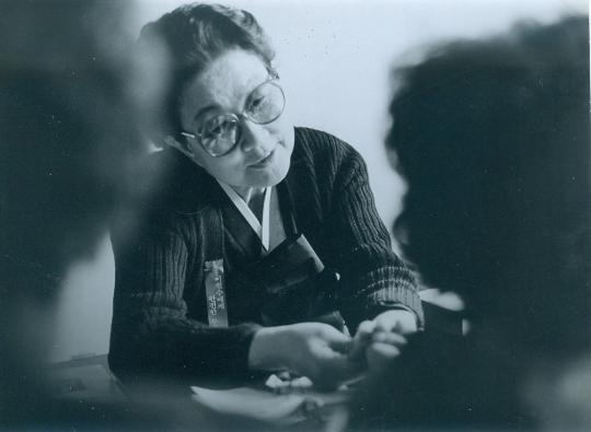 한국가정법률상담소를 창립한 고 이태영 박사. ⓒ한국가정법률상담소