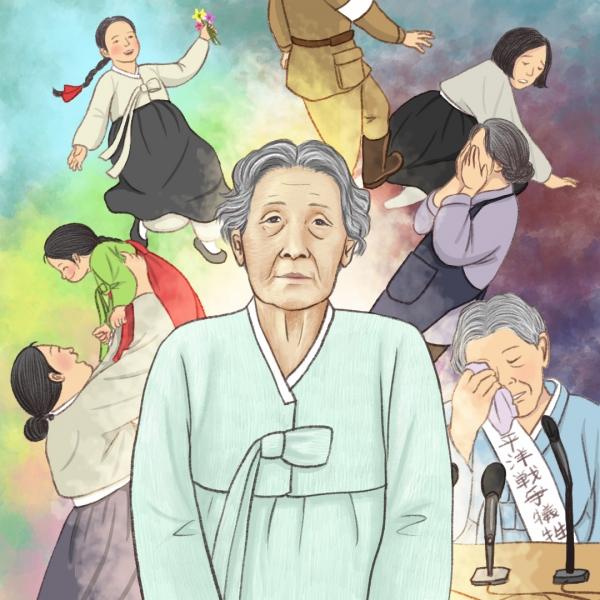 일본군'위안부' 피해를 공개적으로 최초 증언한 고 김학순(1924~1997)의 생애를 다룬 창작 판소리 공연 '별에서 온 편지'가 LSKF 오후 6시30분 여성신문TV 유튜브 채널에서 온라인으로 중계된다. ⓒ별에서 온 편지