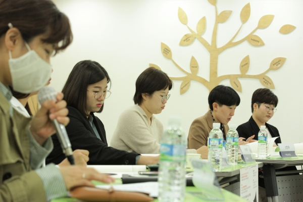 26일 오후 서울 영등포구 여성미래센터에서 젠더정치연구소 여.세.연과 한국여성정치연맹이 '슬기로운 정치생활 ①여성청년 정치인'을 개최했다. ⓒ홍수형 기자