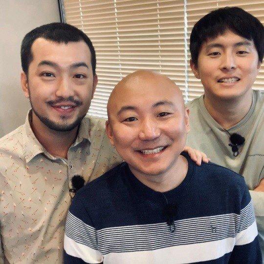 왼쪽부터 웹툰작가 이말년, 주호민, 기안84. ⓒ주호민 인스타그램 캡처