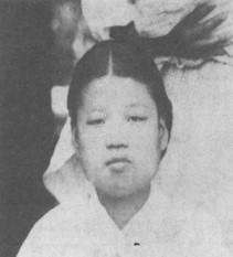 1893년 16세 김점동.