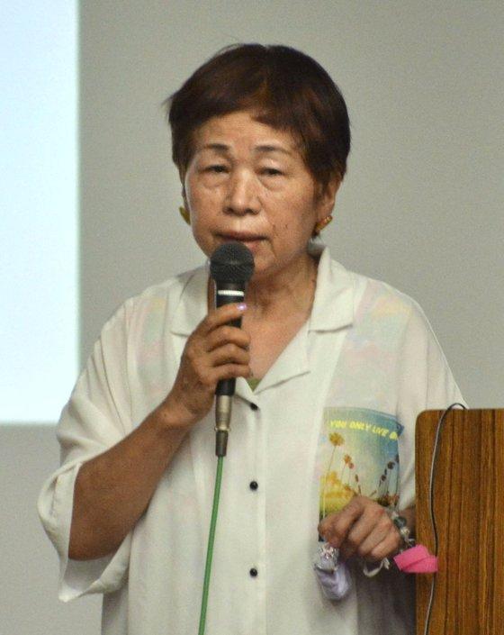 스즈키 하루미(67)의 모습. ⓒ트위터