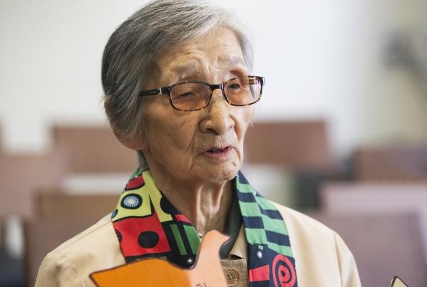 한국 여성운동의 역사 이이효재 선생. ⓒ여성신문