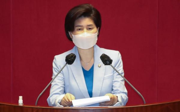 백혜련 더불어민주당 의원. ⓒ뉴시스·여성신문