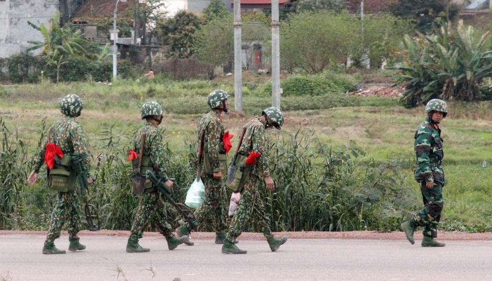 군인들. ⓒ뉴시스.여성신문
