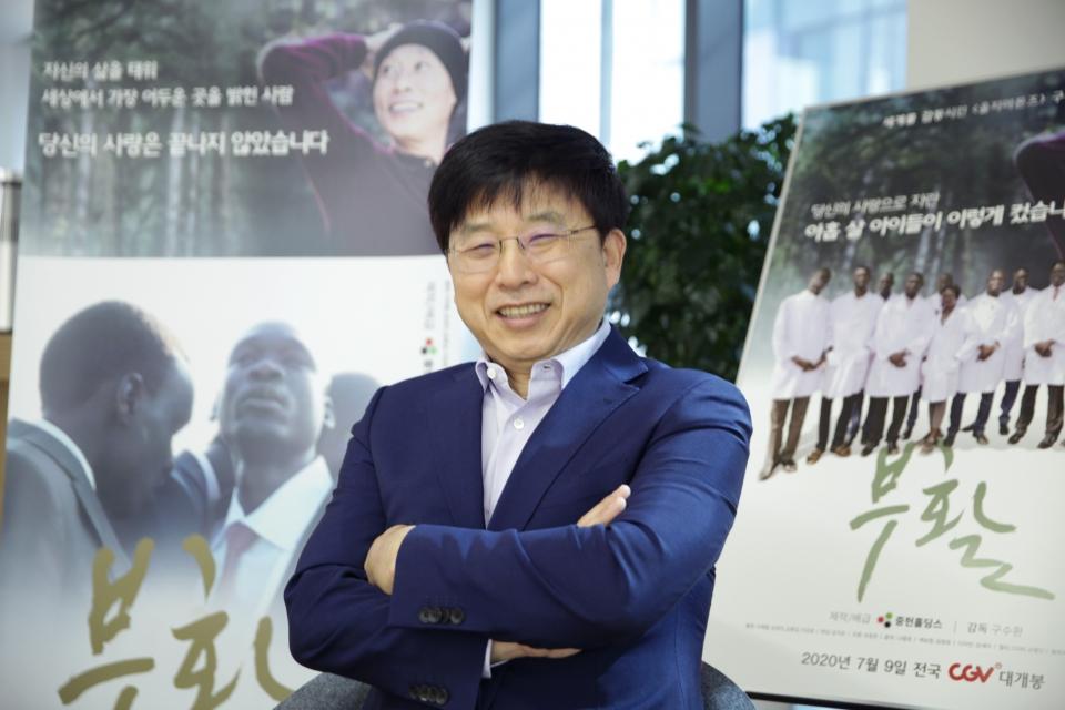구수환 감독 ⓒ홍수형 기자