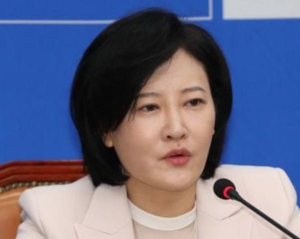 이수진 의원이 코트라 해외 무역관의 성 비위 사건을 언급하며 국정감사에서 활약했다. ⓒ이수진 더불어민주당 의원 페이스북<br>