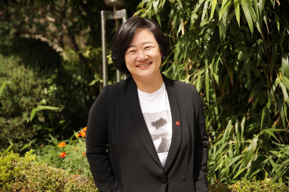 권김현영 교수 ⓒ홍수형 기자