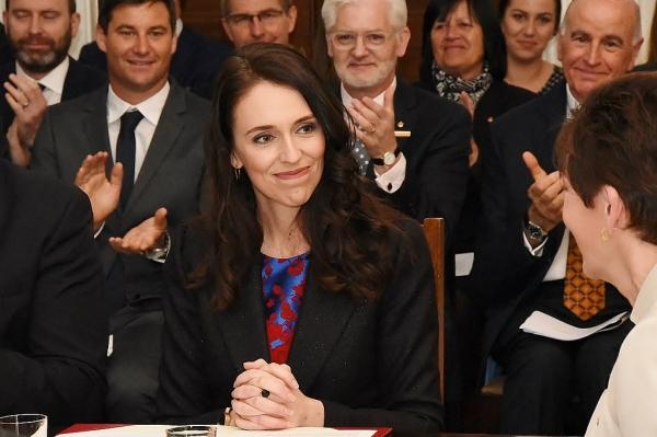2017년 10월 26일 37세의 나이로 뉴질랜드 제40대 총리로 공식적으로 취임한 저신다 아던 뉴질랜드 총리 ⓒWikimedia Commons