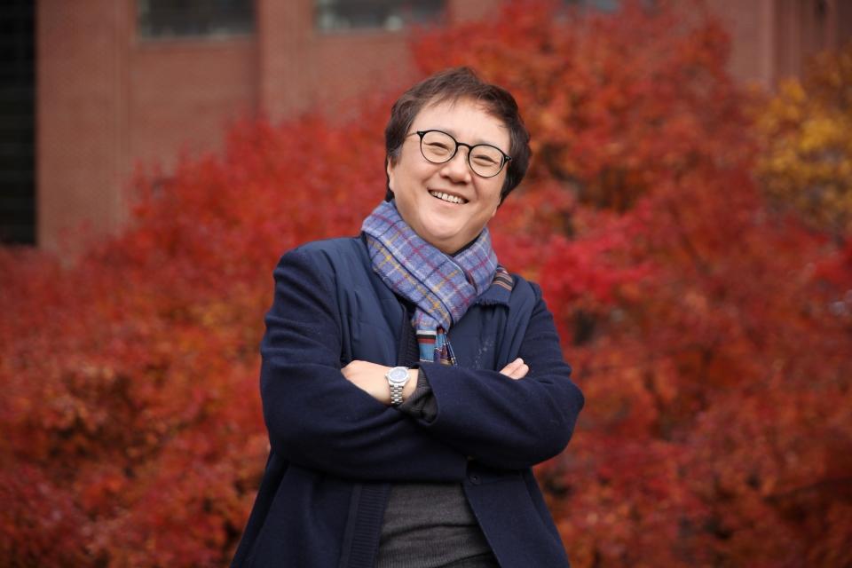 여성의당 정책자문위원장을 맡은 박선영 한국여성정책연구원 선임연구위원. ⓒ홍수형 기자