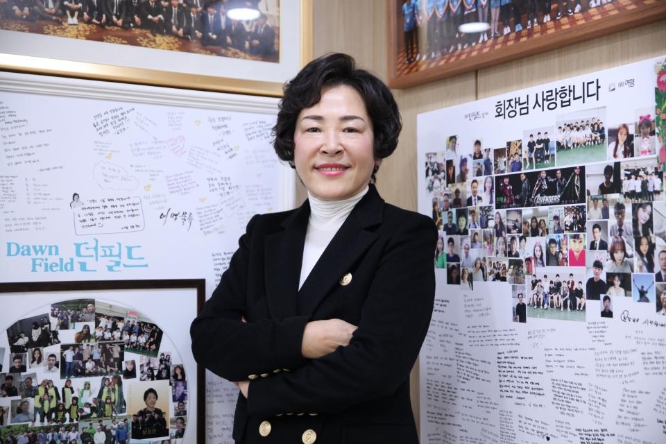 서순희 던필드 회장 ⓒ홍수형 기자