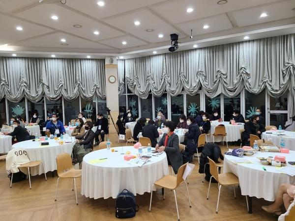 '2020 삶이야기 총동창회'가 18일 오후 서울 중구 문학의 집에서 열렸다. ⓒ사단법인조각보