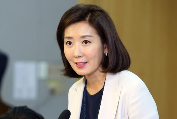 나경원 자유한국당 의원 ⓒ이정실 여성신문 사진기자