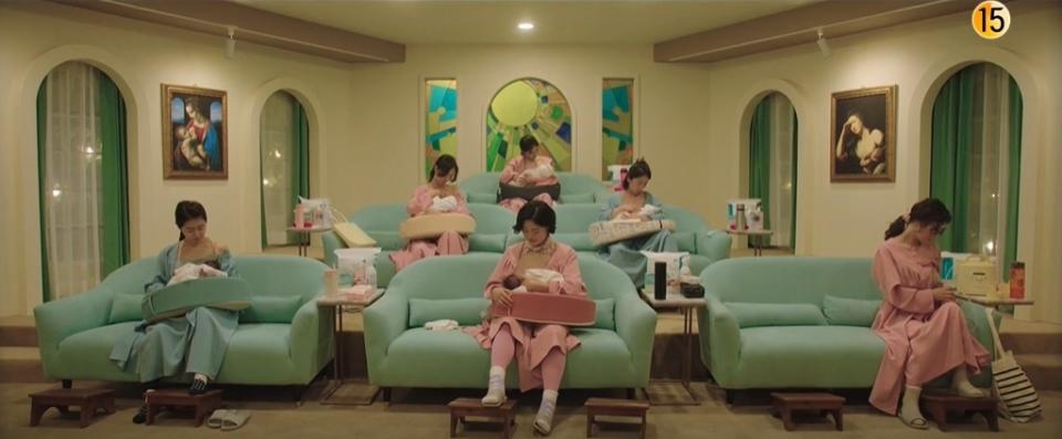 tvN 월화드라마 '산후조리원'.
