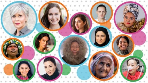 BBC 선정 2020년 '올해의 여성 100인'. ⓒBBC뉴스코리아