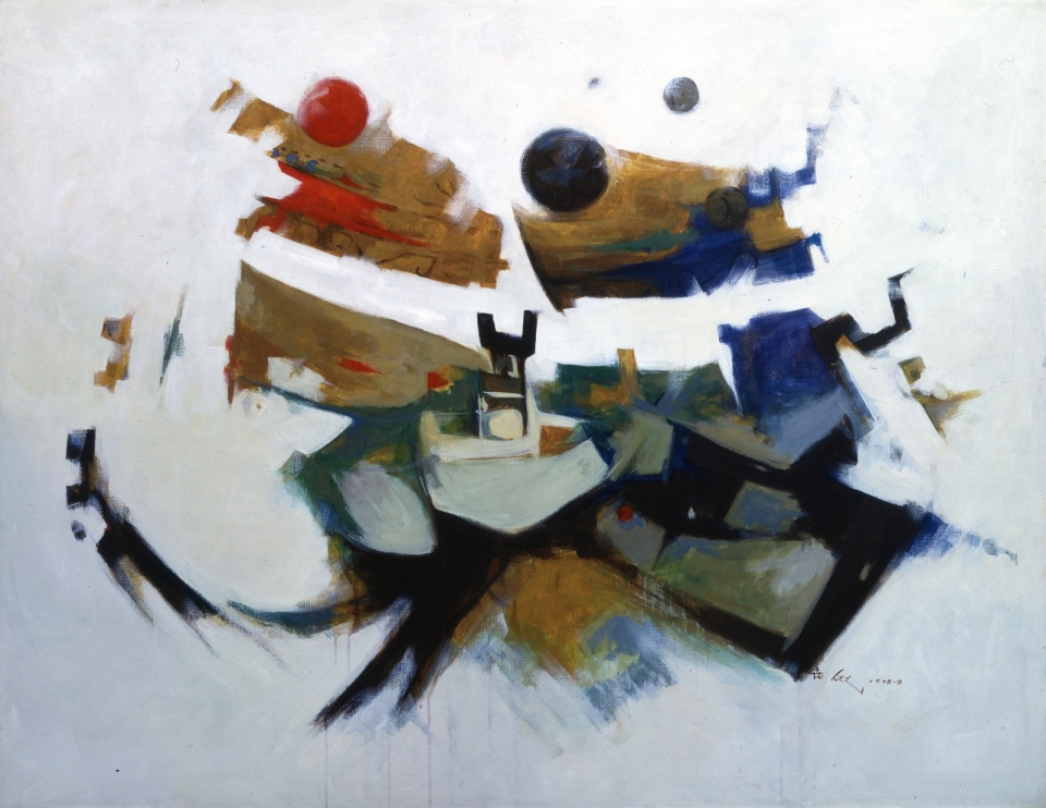 이세득 Lee SeDuk, 작품 Work, 1978-79, 캔버스에 유채 Oil on canvas, 113×145cm© Image Copyright Lee SeDuk Estate (사진=유족 제공)