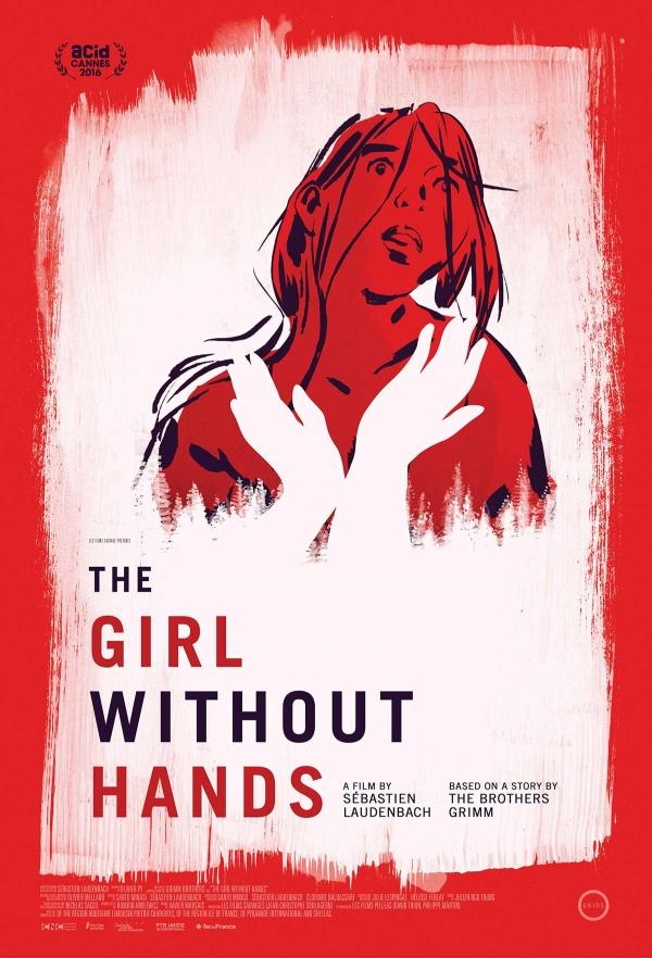 프랑스 영화 'GIRL WITHOUT HANDS' 포스터.