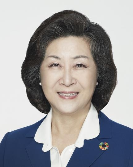 김은미 이화여대 제17대 신임총장 사진. ⓒ이화여대