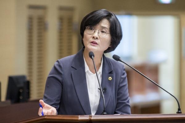 임미애 경북도의원.