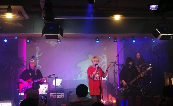 지난 11월 28일 오후 6시 서울 마포구 생기스튜디오에서 열린 '2020 We We We Festa' 공연 현장. ⓒ김민정씨 제공