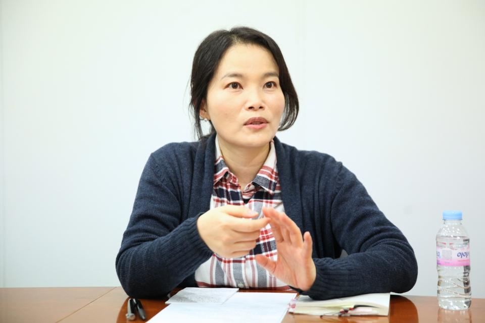 김영서 작가 ⓒ홍수형 기자