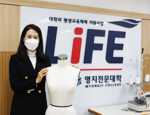김미영 미래융합학부 학부장. ⓒ여성신문
